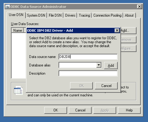 How to install and configure DB2 ODBC driver | Ryslander com